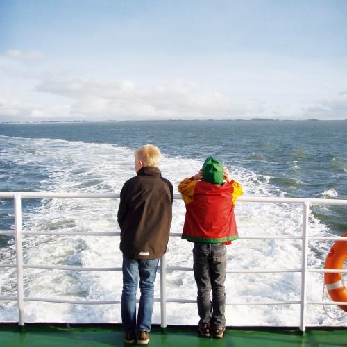 Kinder Schifffahrt
