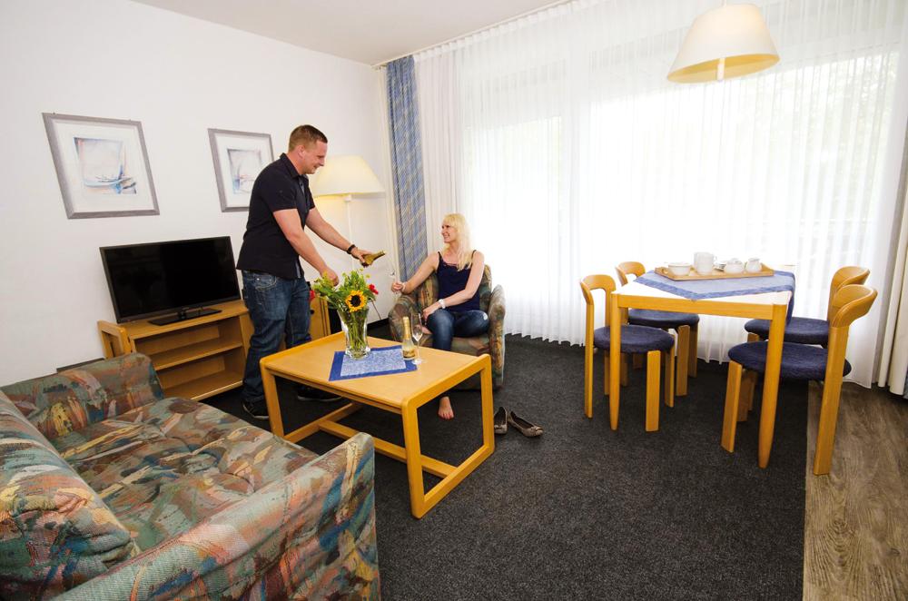 Bensersiel Hotelzimmer
