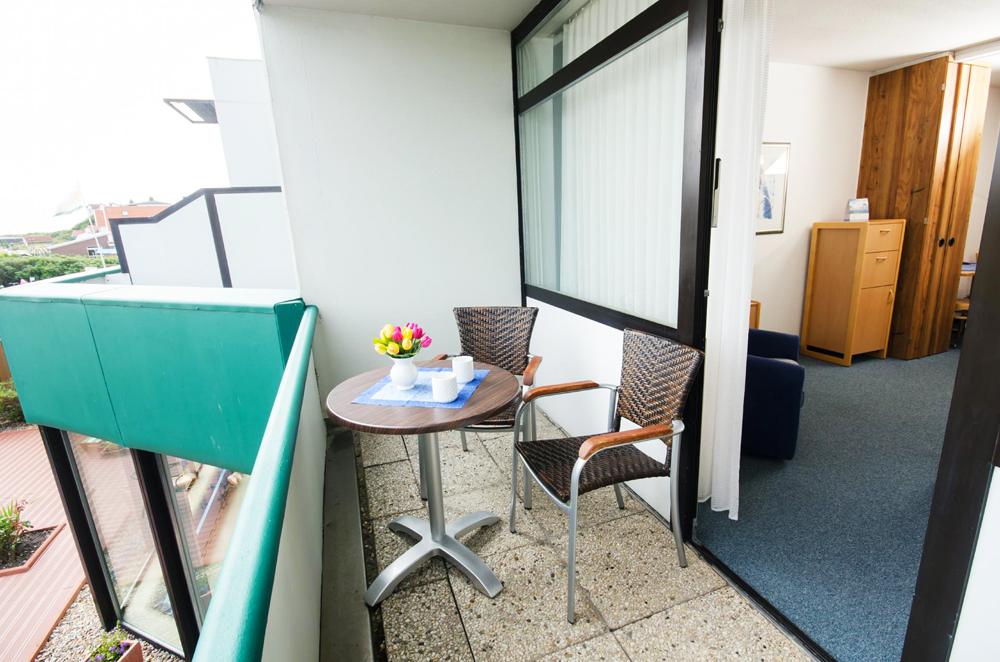 Langeoog Studio mit Balkon