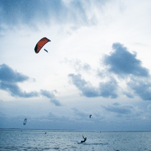 kitesurfer Langeoog