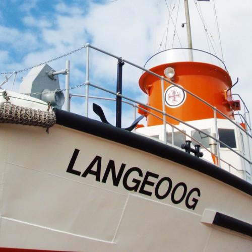Seenotrettungsboot Langeoog